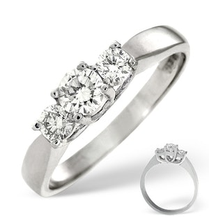 Ariella 3 Stone Diamond Rings