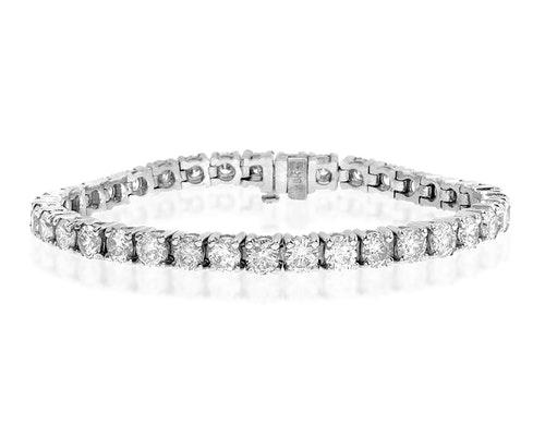 Claw Set Diamond Bracelets