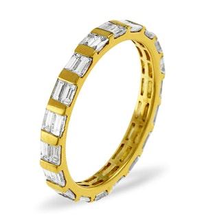 ETERNITY RING JESSICA 18K GOLD DIAMOND 1.00CT H/SI