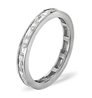 ETERNITY RING ABIGAIL 18K WHITE GOLD DIAMOND 1.00CT H/SI