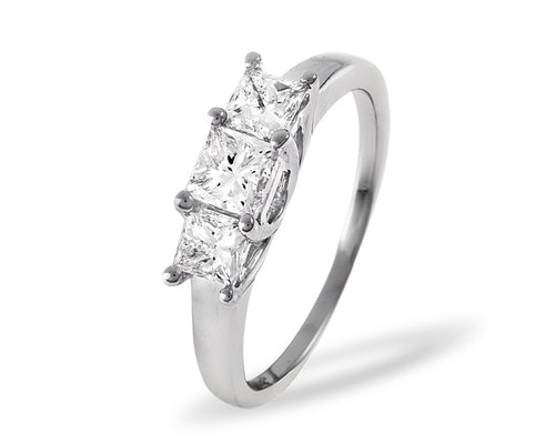 3 Stone Lauren Rings