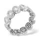Eternity Ring Sophie Platinum Diamond 1.50ct H/Si - image 3