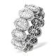 Eternity Ring Sophie Platinum Diamond 1.50ct H/Si - image 1