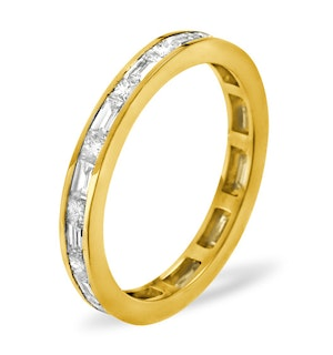 ETERNITY RING ABIGAIL 18K GOLD DIAMOND 1.00CT H/SI