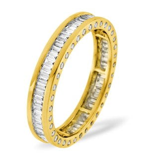ETERNITY RING SKYE 18K GOLD DIAMOND 1.00CT H/SI