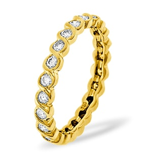 ETERNITY RING KIERA 18K GOLD DIAMOND 1.00CT H/SI