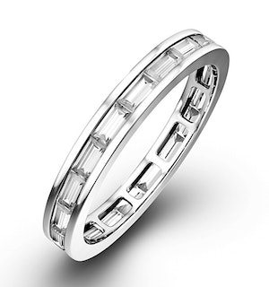 ETERNITY RING LILY 18K WHITE GOLD DIAMOND 1.00CT H/SI