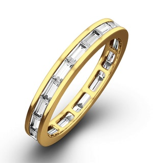 ETERNITY RING LILY 18K GOLD DIAMOND 1.00CT H/SI