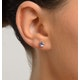 Tanzanite 5 x 4mm 9K Yellow Gold Earrings - image 2