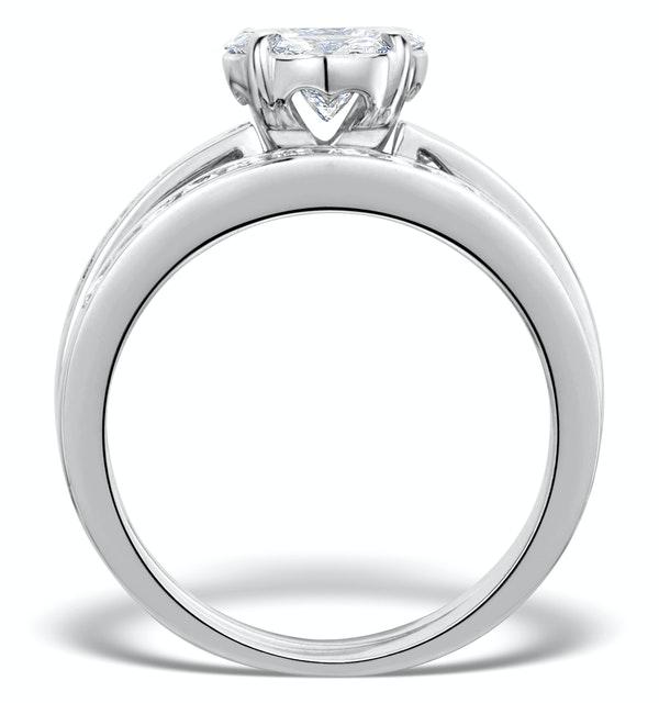 Matching Diamond Engagement And Wedding Ring 1 46ct
