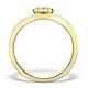 0.30ct Diamond and 9K Gold Daisy Ring - E5800 - image 2