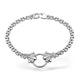 Diamond 0.50ct 18K White Gold Bracelet - RTC-EDT228Y - image 1