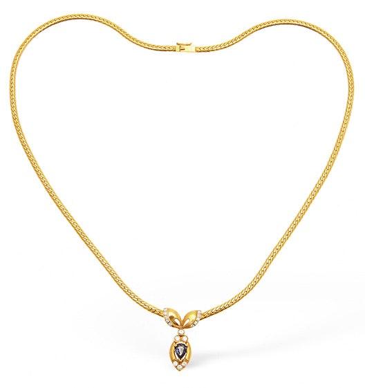 Diamond 0.33ct 18K Gold Necklace - RTC-EP2245