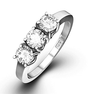 3 Stone Chloe Rings
