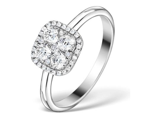 Galileo Halo Engagement Rings