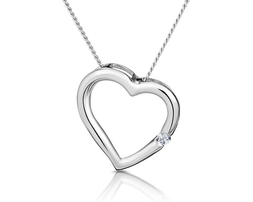 White Gold Necklaces and Pendants