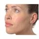 Cluster Earrings 0.25ct Diamond 9K White Gold - image 2