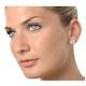 Aquamarine 1.90CT And Diamond 9K White Gold Earrings - image 2