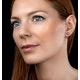 Black Diamond and Diamond Stellato Earrings in 9K White Gold - image 2