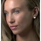 Stellato Collection Pave Diamond Heart Earrings in 9K Gold - image 3