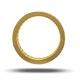 Mens 2ct G/Vs Diamond 18K Gold Full Band Ring - image 3