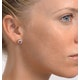 Pink Sapphire 6 X 4mm and Diamond 18K Yellow Gold Earrings Feg28-Ru - image 4