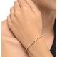 Diamond Tennis Bracelet 1.00ct 9K Yellow Gold - image 2