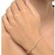 Diamond Tennis Bracelet Rubover Style 3.00ct 9K Yellow Gold - image 2