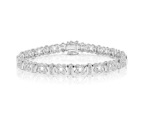 Pave Set Diamond Bracelet