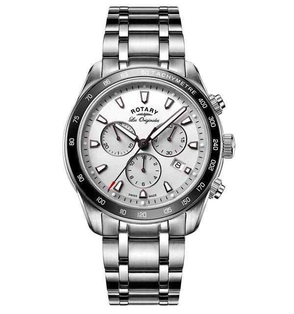 Rotary Les Originales Legacy Swiss Chronograph Gents Quartz Watch - image 1
