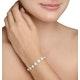 Halo Bracelet with 5CT of Diamonds in 18K White Gold - J3353 - image 3