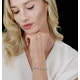 Diamond Halo Bracelet  6.78ct in 18K White Gold - Asteria Collection - image 2