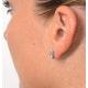 Aquamarine 1.90CT And Diamond 9K White Gold Earrings - image 4