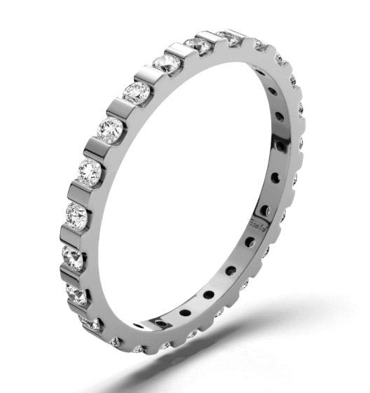Eternity Ring Hannah Platinum Diamond 0.50ct H/Si