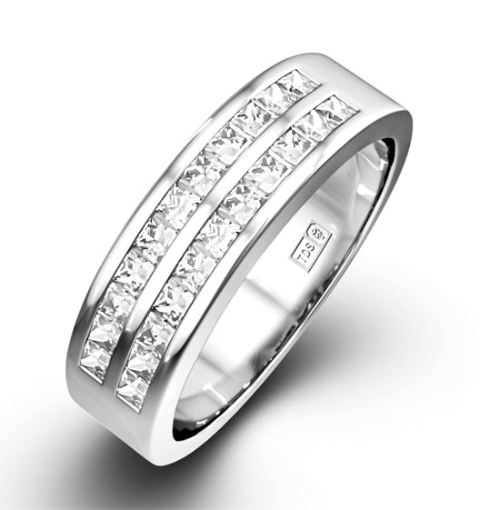 Holly 18K White Gold Diamond Eternity Ring 1.50CT G/VS