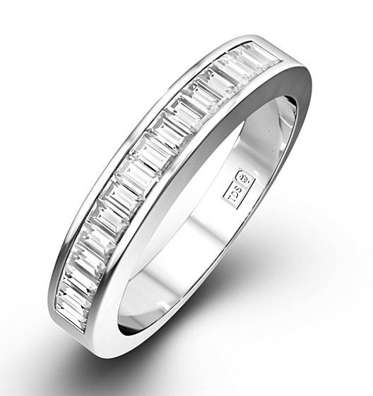GRACE PLATINUM Diamond ETERNITY RING 0.50CT G/VS