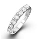 Chloe Diamond Eternity Ring in 18K White Gold - Size P/Q - image 1