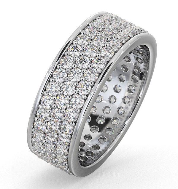 Eternity Ring Tia 18KW Diamond 2.00ct G/Vs