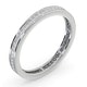 Eternity Ring Lauren Platinum Diamond 0.50ct G/Vs - image 2