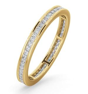 ETERNITY RING LAUREN 18K GOLD DIAMOND 0.50CT H/SI