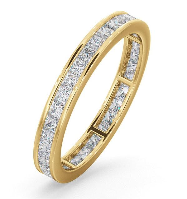 Lauren Diamond Eternity Ring  in 18K Gold - Size i - image 1
