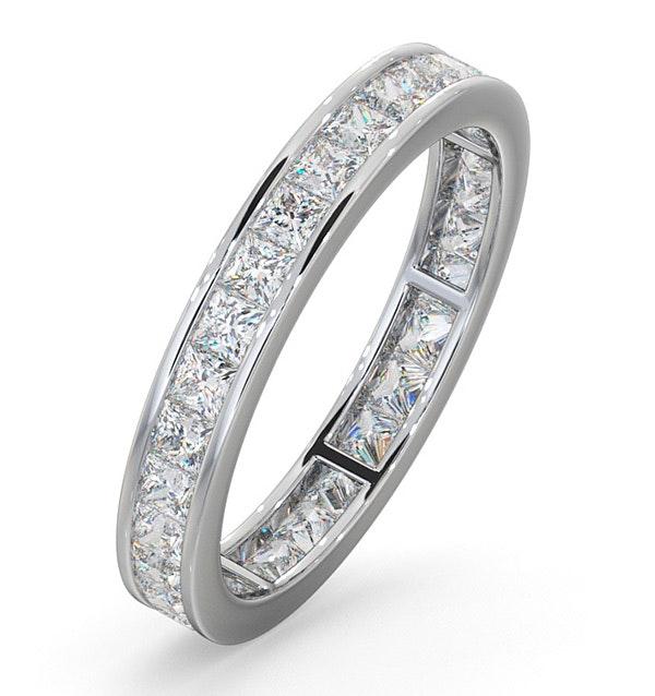 Eternity Ring Lauren Platinum Diamond 1.50ct G/Vs