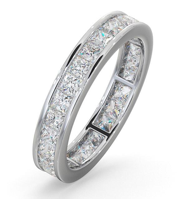 Eternity Ring Lauren Platinum Diamond 2.00ct H/Si