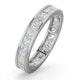 Lauren Diamond Eternity Ring 18K White Gold - Size N - image 1