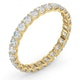 Eternity Ring Chloe 18K Gold Diamond 1.00ct H/Si - image 2