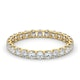 Eternity Ring Chloe 18K Gold Diamond 1.00ct H/Si - image 3