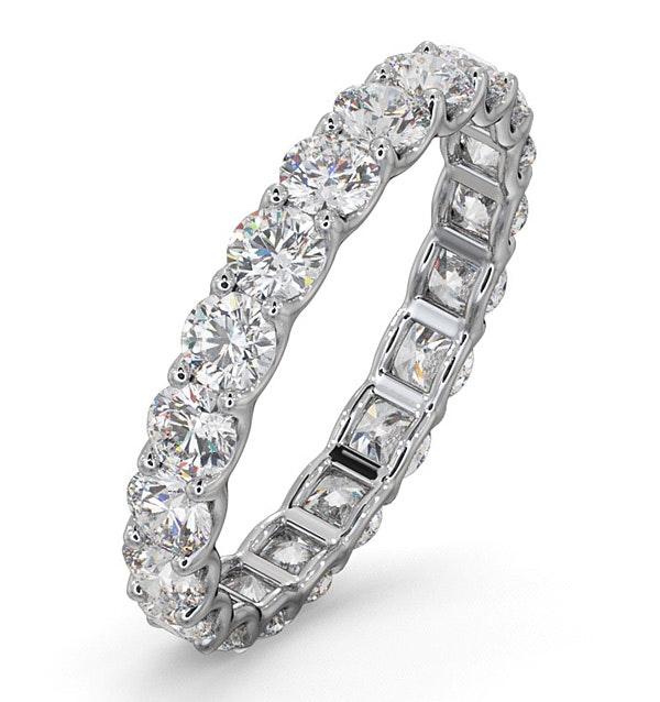 Eternity Ring Chloe 18K White Gold Diamond 2.00ct H/Si