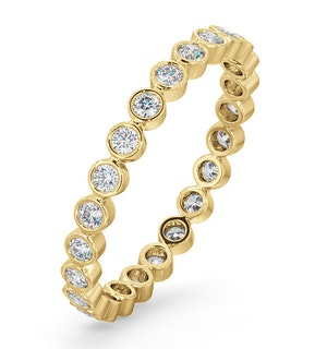 ETERNITY RING EMILY 18K GOLD DIAMOND 0.50CT H/SI