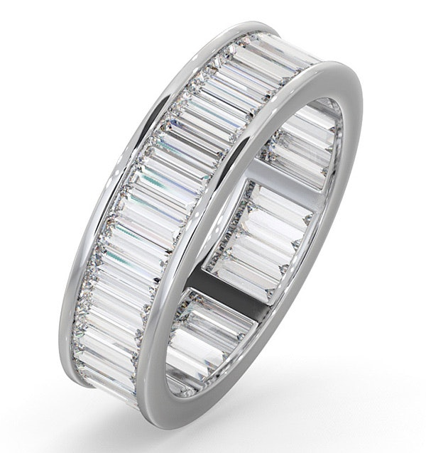 Eternity Ring Grace 18K White Gold Diamond 3.00ct H/Si