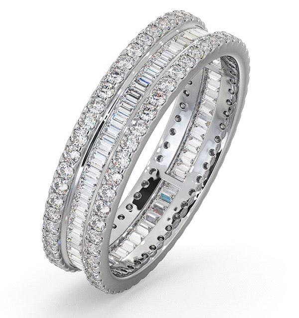 Eternity Ring Katie Platinum Diamond 1.00ct G/Vs